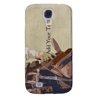 Handyman Tools Watercolor Galaxy S4 Case