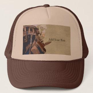 Handyman Tools Watercolor Trucker Hat