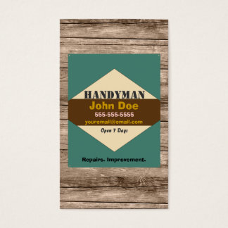 Handyman Vintage Business Card