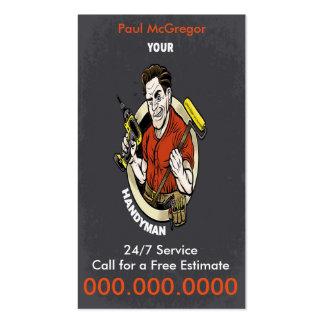Handymen Business Card Tarjetas De Visita