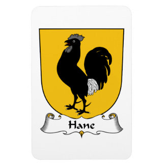 Hane Family Crest Rectangle Magnet