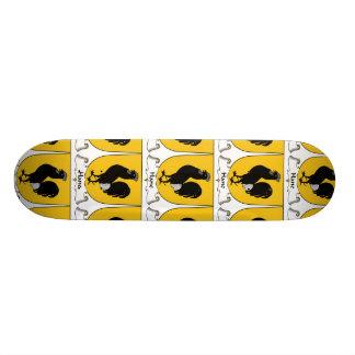 Hane Family Crest Skate Board Deck