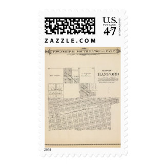 Hanford, Tulare County Postage