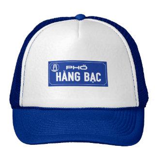 Hang Bac Street, Street Sign, Vietnam Mesh Hat
