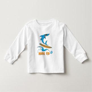 Hang Fin Long Sleeve Toddler T-shirt