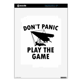 Hang glide  designs decal for iPad 2