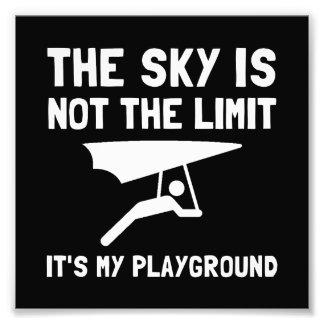 Hang Glide Playground Photo Print