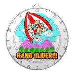 Hang Glider Hound Dart Board