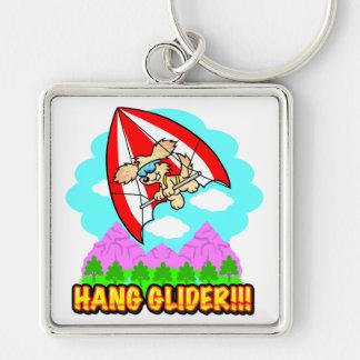 Hang Glider Hound Key Chain