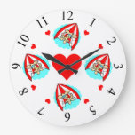 Hang Glider Love Clock