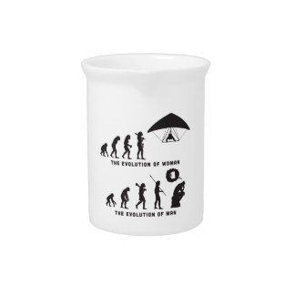 Hang Gliding Beverage Pitchers