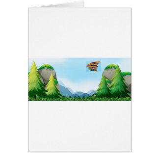 Hang gliding card
