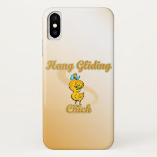 Hang Gliding Chick iPhone X Case
