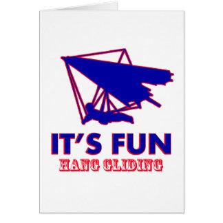 hang gliding Design Card