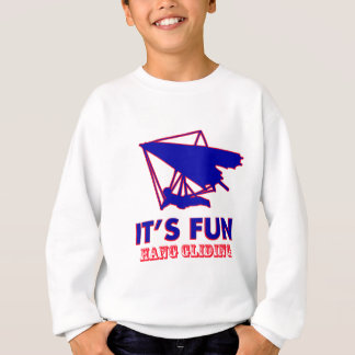 hang gliding Design Sweatshirt