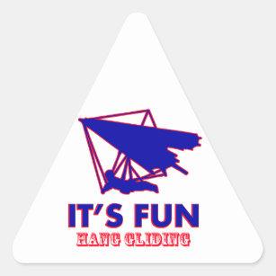 Hang Gliding Designs Stickers | Zazzle