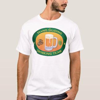 Hang Gliding Drinking Team T-Shirt