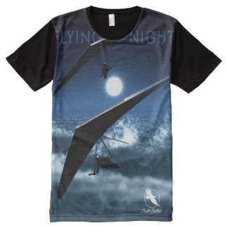 HANG GLIDING Flying Night Ponto Central All-Over-Print T-Shirt