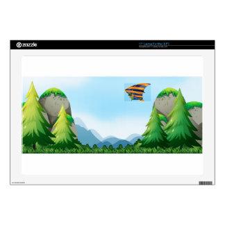 Hang gliding laptop skin