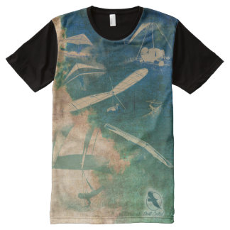 HANG GLIDING NEW ALL 07 Ponto Central All-Over-Print T-Shirt