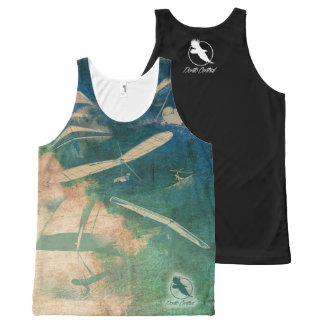 HANG GLIDING NEW ALL 08 Ponto Central All-Over-Print Tank Top