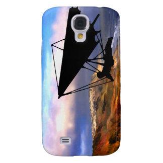 Hang Gliding Over the California Coast Galaxy S4 Case