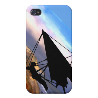 Hang Gliding Over the California Coast iPhone 4/4S Case