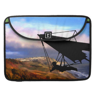 Hang Gliding Over the California Coast Sleeve For MacBook Pro