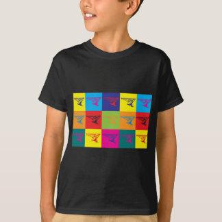 Hang Gliding Pop Art T-Shirt