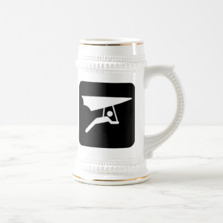 Hang Gliding Sign Beer Stein