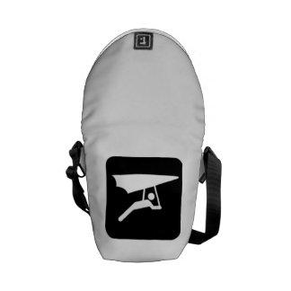 Hang Gliding Sign Messenger Bags