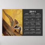 Hang Hod 2011 Calendar ... Naga in Vientiane, Laos Poster