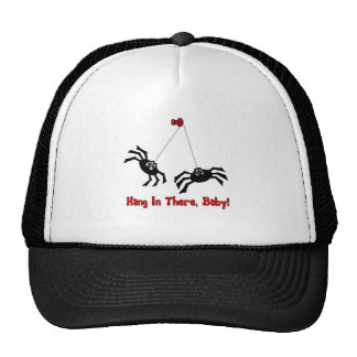 Hang In There, Baby! Spider Trucker Hat