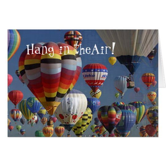 HANG IN THERE! by SHARON SHARPE Card