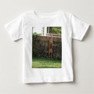 hang in there deer shirt