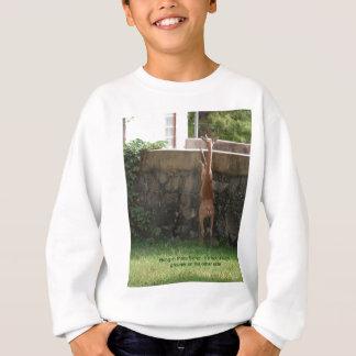 hang in there deer sweatshirt