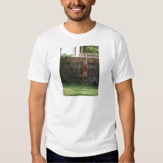 hang in there deer tee shirt