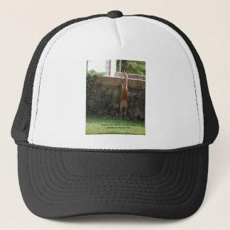 hang in there deer trucker hat