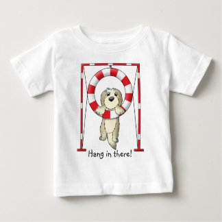 Hang in There Dog Agility Baby's Shirt