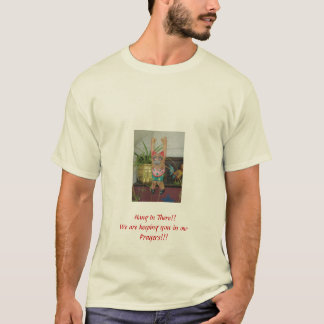 Hang In There Kitty Earthquake Relief T-Shirt