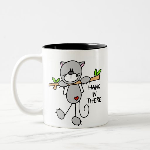Hang In There Kitty Mug