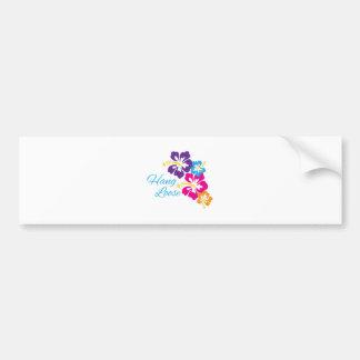Hang Loose Bumper Sticker