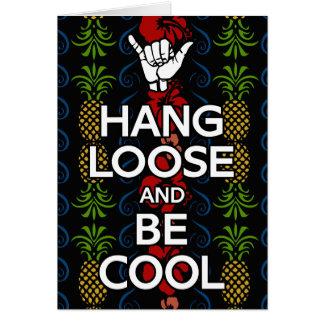 Hang Loose Card