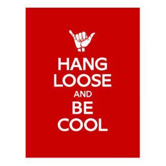 Hang Loose Postcard