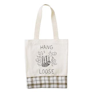 Hang Loose Sloth Zazzle HEART Tote Bag