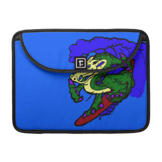 Hang Loose Surfing Dragon Sleeve For MacBook Pro
