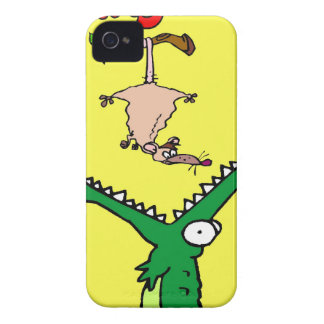 Hang On Alligator and Possum iPhone 4 Case