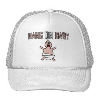 Hang on baby trucker hat