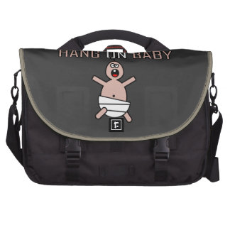 Hang on baby laptop commuter bag
