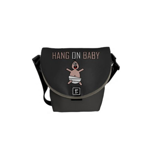 Hang on baby messenger bag